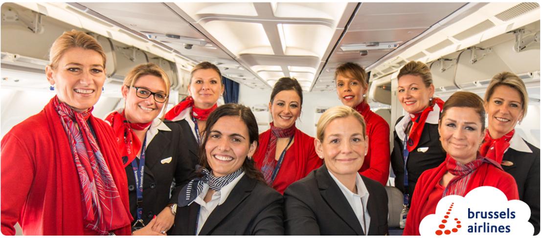 Brussels Airlines viert Vrouwendag met all-female vlucht naar New York