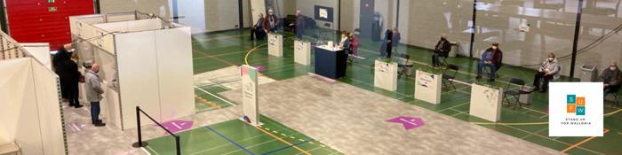 7 acteurs belges de l'événementiel s'associent pour créer un consortium unique autour des centres wallons de vaccination
