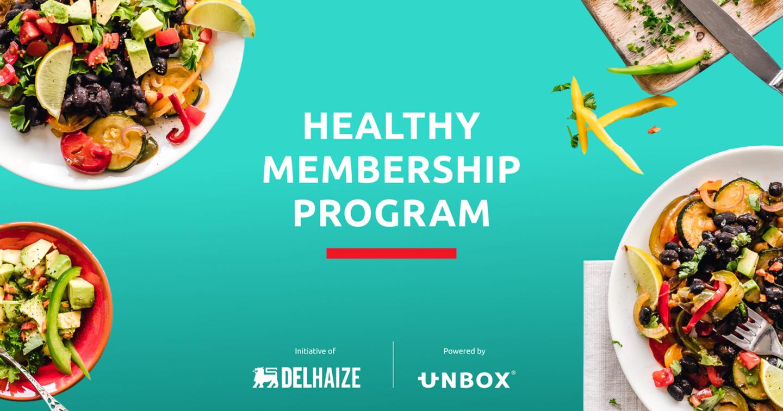 Delhaize et Unbox lancent le Healthy Membership Program pour des entreprises et organisations