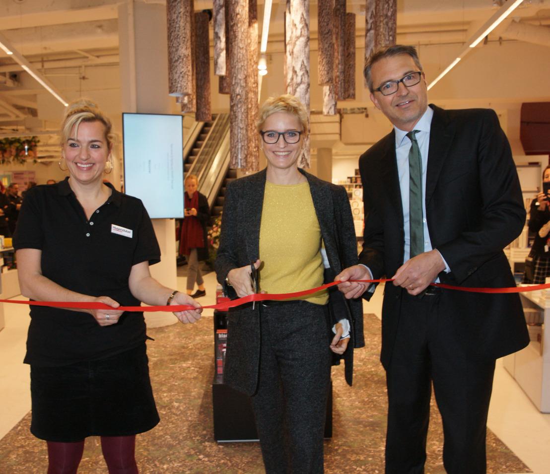 Hugendubel eröffnet seinen Buchshop der Zukunft am Münchner Stachus