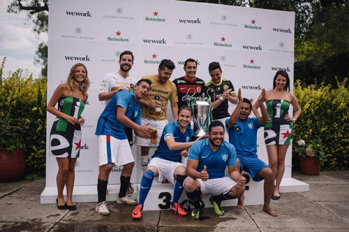 WeWork lleva a la comunidad a la cancha con su primer Mundialito