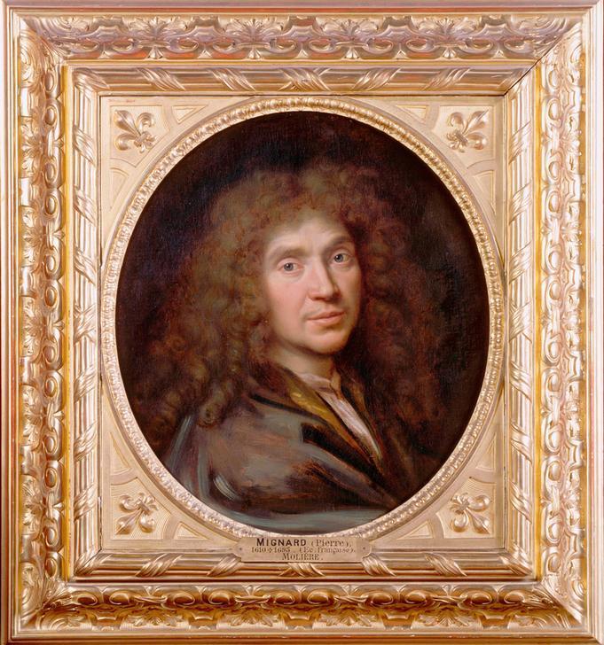 Portrait de Molière par Pierre Mignard (c) akg-images