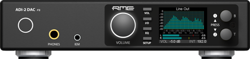 RME Debuts New ADI-2 DAC FS at the 2020 NAMM Show