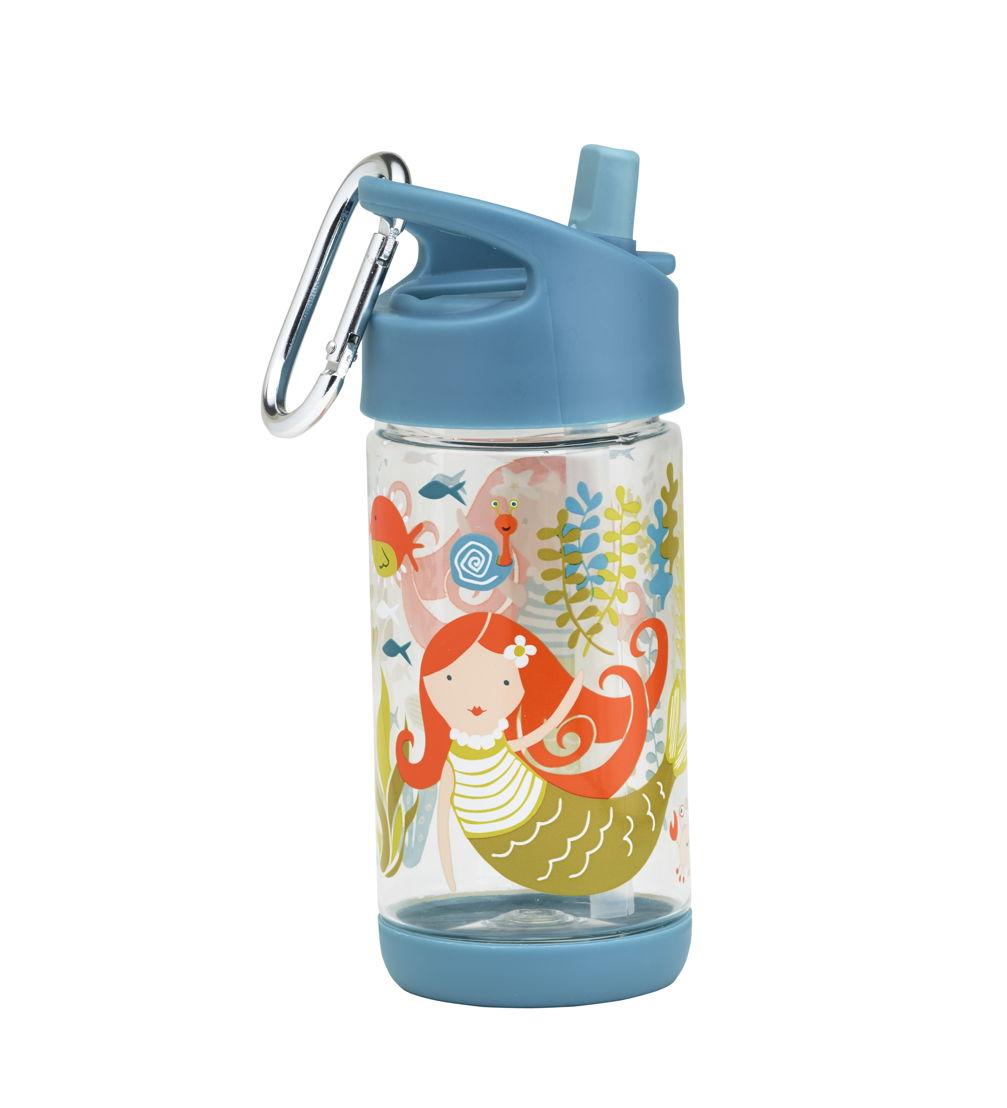 SugarBooger handige flip & sip tritan drinkfles Isla the Mermaid - €15,95