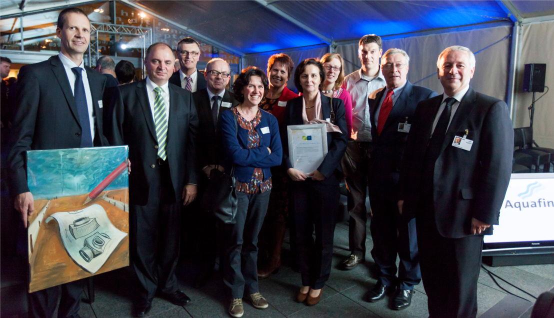 Studiebureau Cnockaert, winnaar van de kwaliteitsaward 2012