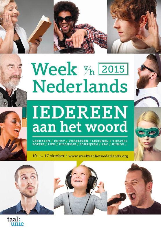 affiche Week van het Nederlands 2015