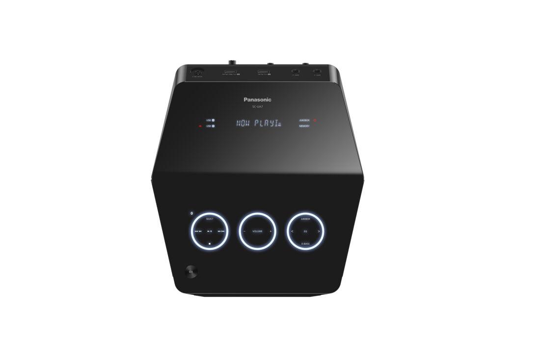 Panasonic Urban Audio SC-UA7 Vista Frontal Cenital