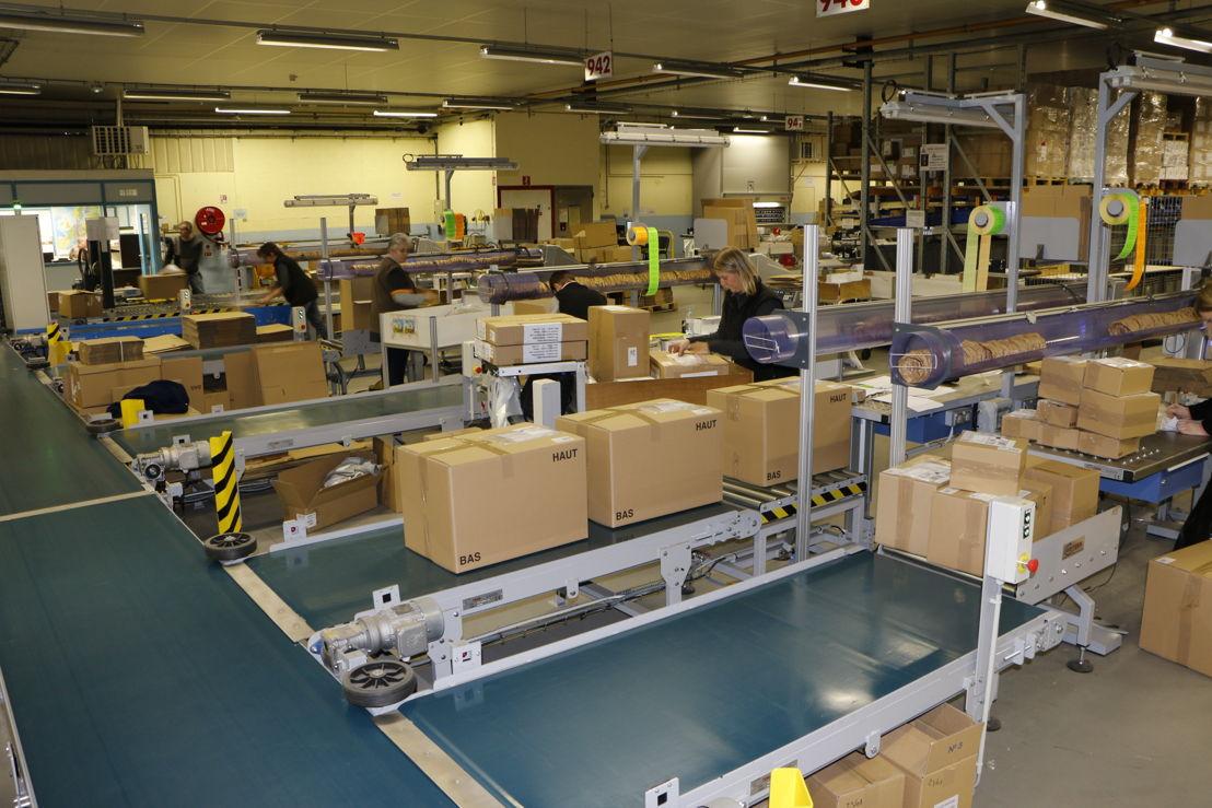 Groupe SEB - Verzending  reserve-onderdelen Franche-Comté (Frankrijk)
