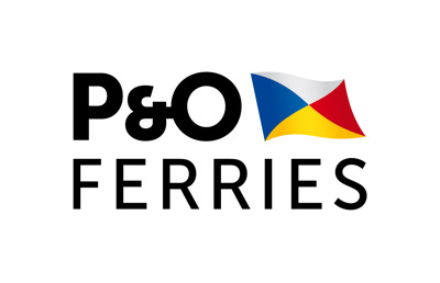 P&O Ferries press room Logo
