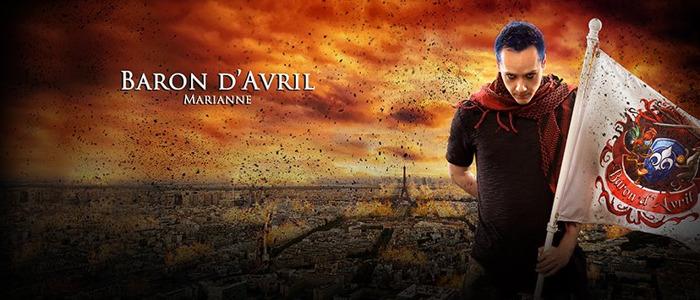 """BARON D'AVRIL : Nouvel album """"Marianne"""", disponible le 28 février"""