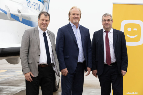 Brussels South Charleroi Airport and Telenet form a strategic partnership to create airport 3.0