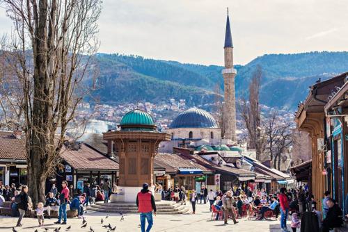 Sarajevo and Tbilisi await