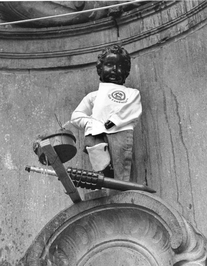 Brussels '97, Manneken Pis