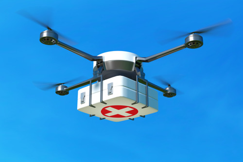 Inter hospital transport by drone becomes reality