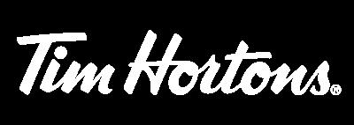 Tim Hortons sala de prensa Logo