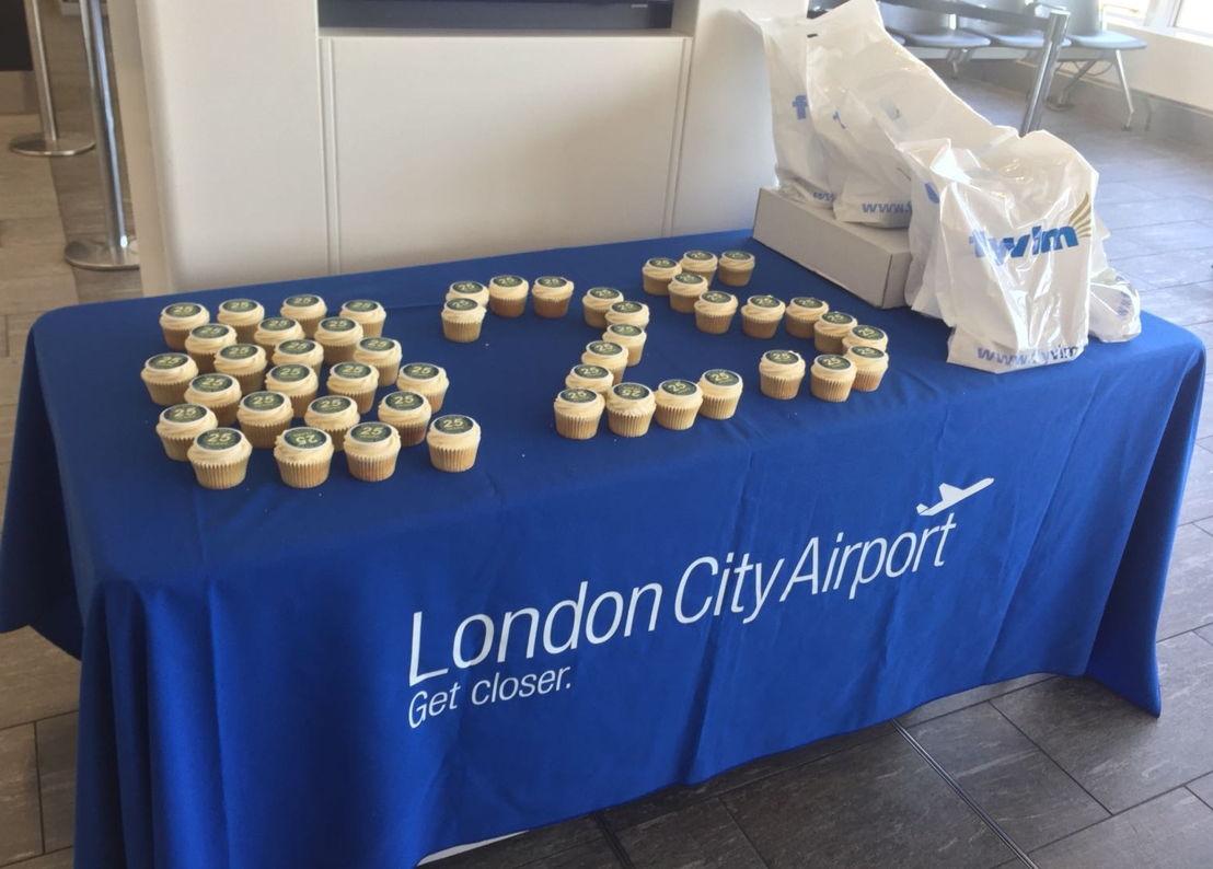 Cupcakes at London City Airport