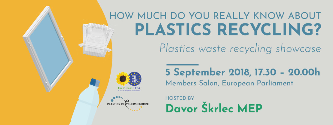 Recycling showcase of six plastic waste streams: REGISTER BY TODAY!