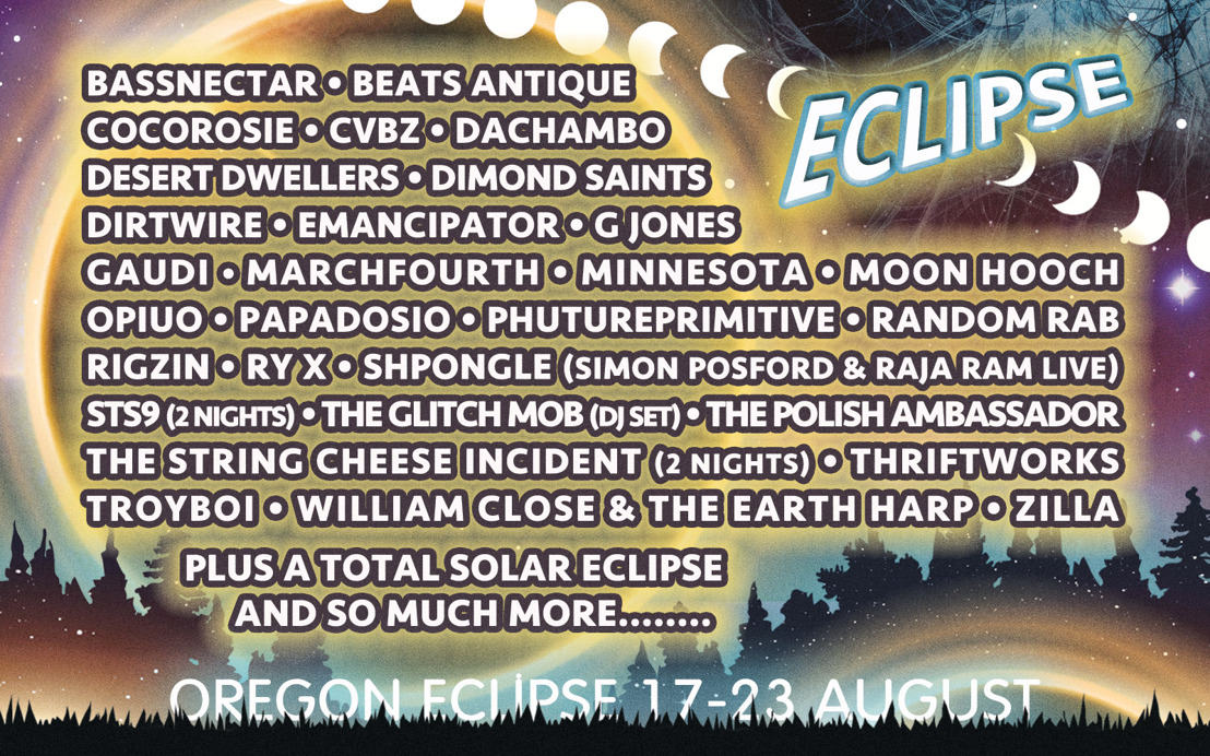 Oregon Eclipse Announces Lineup for August 17-23 2017 Gathering at Big Summit Prairie