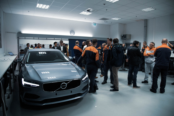 Volvo HR90 on tour