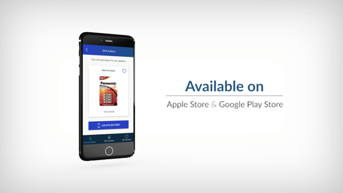 New Panasonic App To Help Find the Right Battery