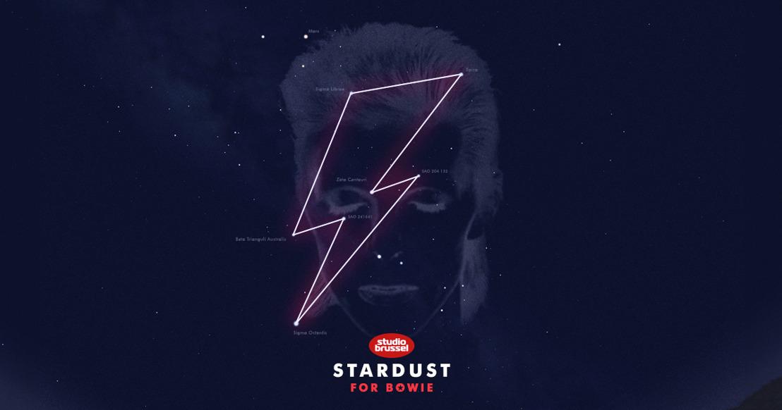 'Starman' Bowie krijgt eigen sterrenbeeld