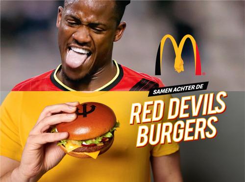 McDonald's verenigt alle Belgen achter de Rode Duivels