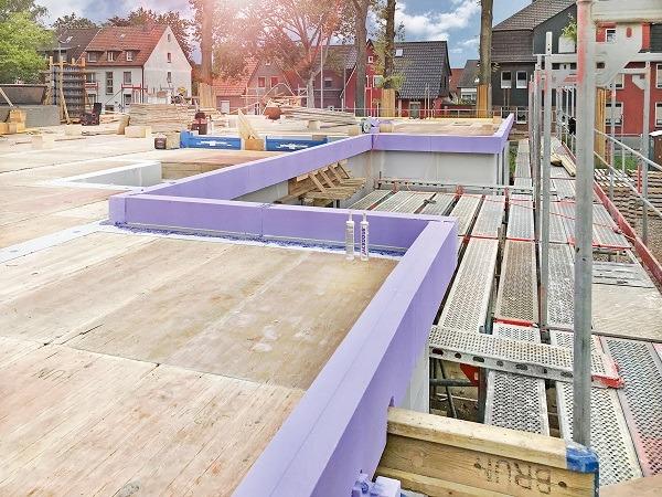 Isolerende bekisting JACKODUR® Maxi - nieuwe randbekisting voor een uitzonderlijke isolatie van betonvloeren