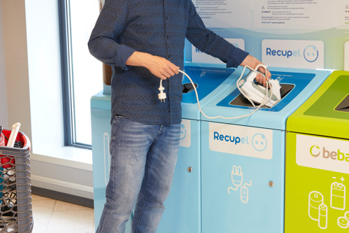 RecyclePunten van Recupel groeiend succes