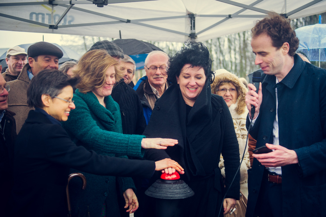 Storm-windpark Meer ingehuldigd door Minister Turtelboom
