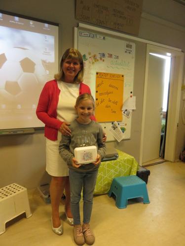 Fiona Buysse van BSGO De Molenberg uit Stekene wint Europese tekenwedstrijd