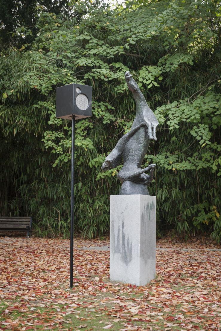 Dennis Tyfus, Juicht (eindeloze zangstonde), 2018<br/>Middelheimmuseum, Antwerpen<br/>Copyright Dennis Tyfus<br/>Foto Ans Brys