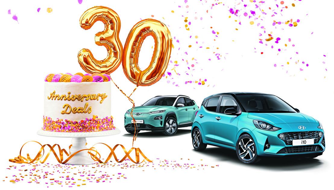 Anniversary Deals – das Geschenk von Hyundai zum runden Geburtstag!