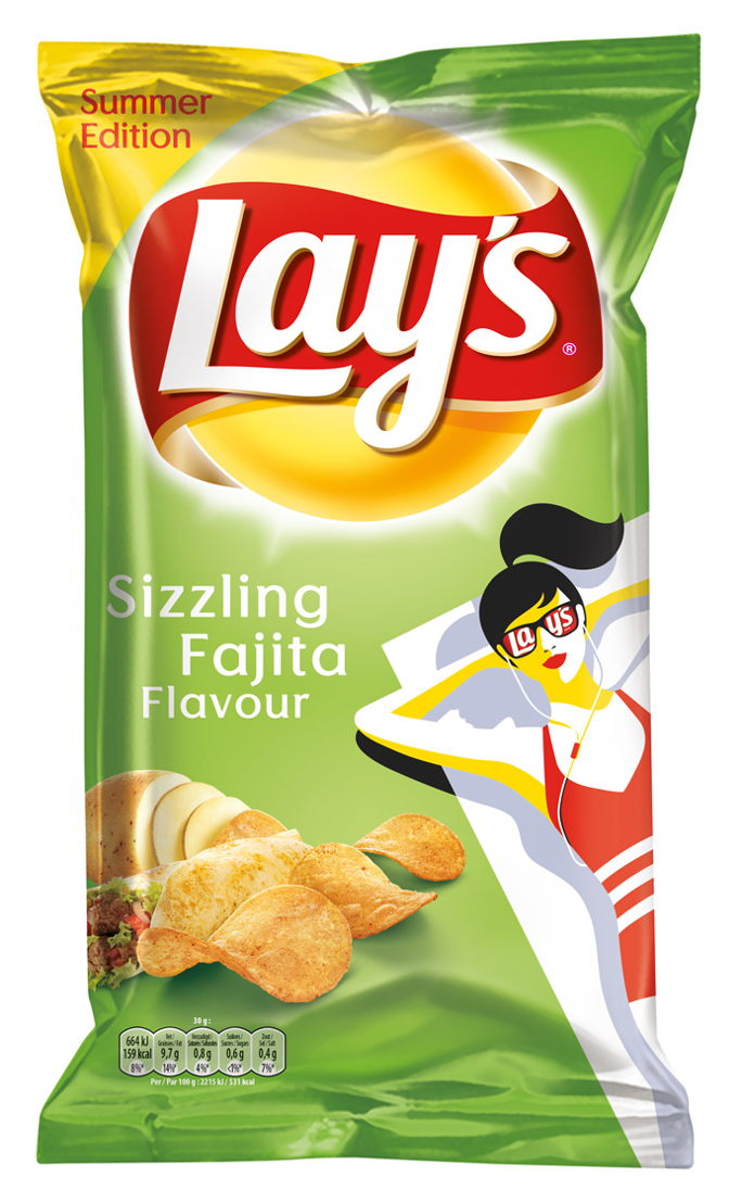 Lay's Summer Editions Sizzling Fajita