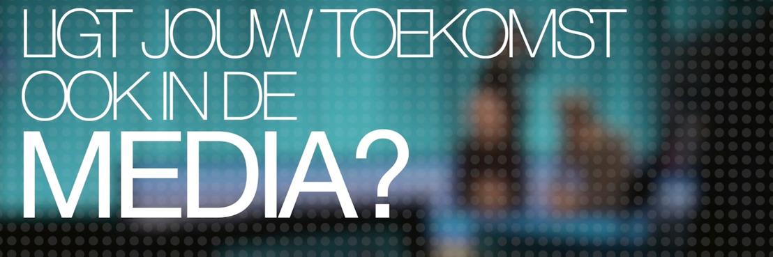 PERSBERICHT VRT & mediarte.be: Ligt jouw toekomst ook in de media?