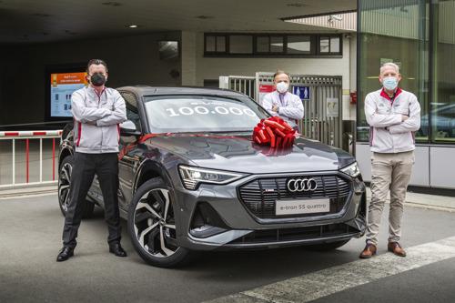 Audi Brussels construit la 100.000ème Audi e-tron