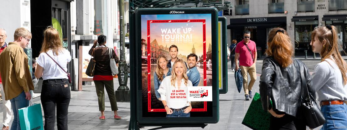 NRJ et Ogilvy Social.Lab réveillent la Belgique avec le Wake Up Show !