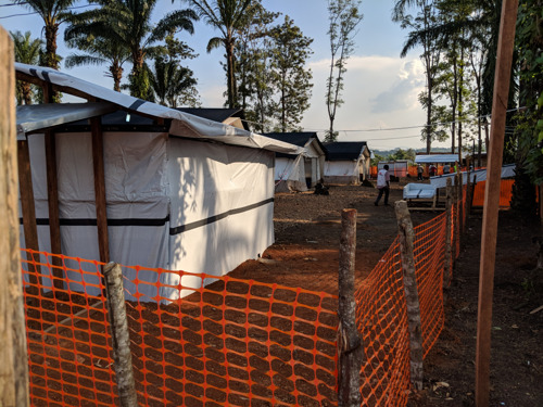 Ebola outbreak in North Kivu