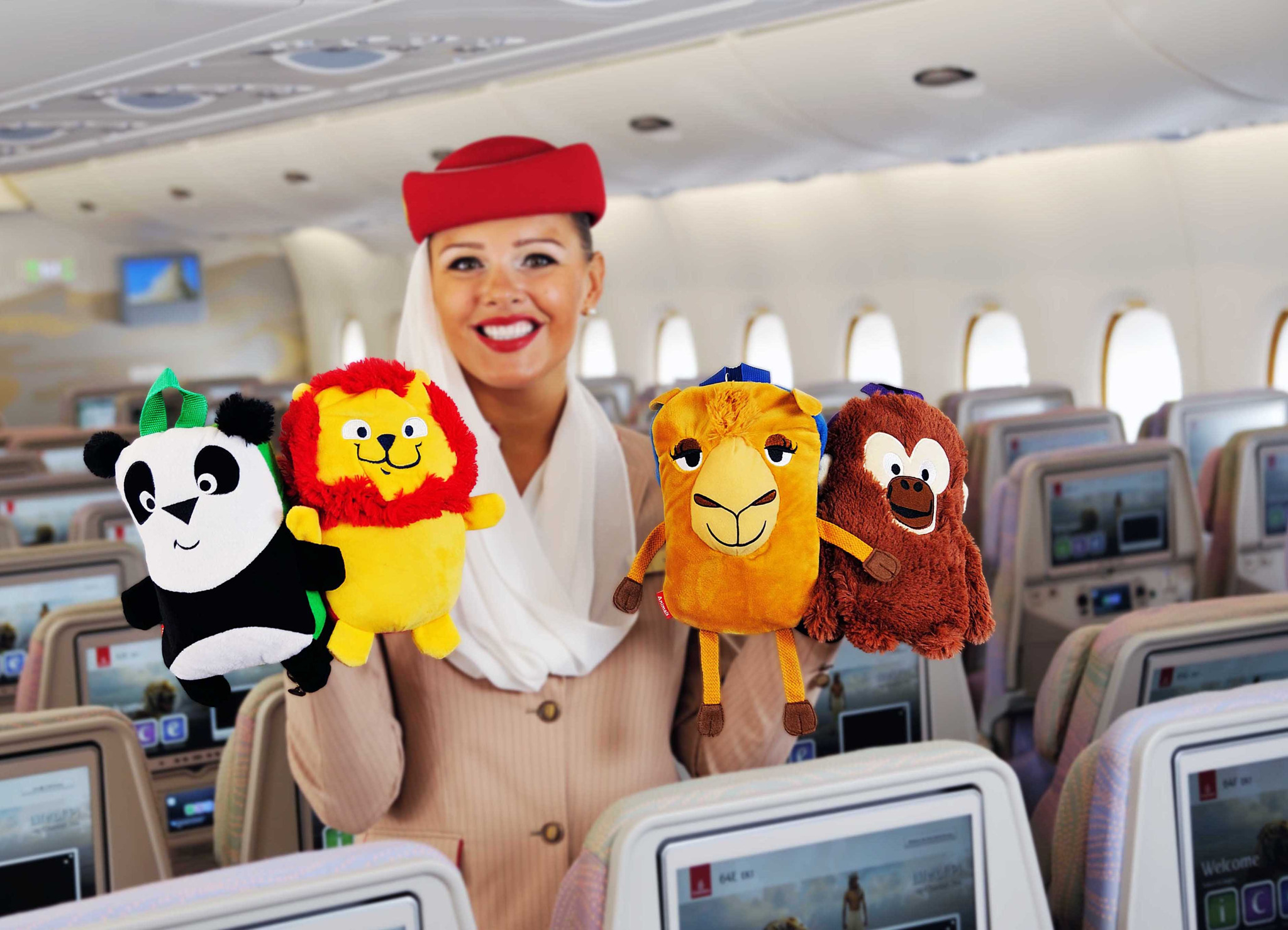 In-flight Gifts/ Amenity Kits Emirates Lonely Planet Kids Cards Airlines