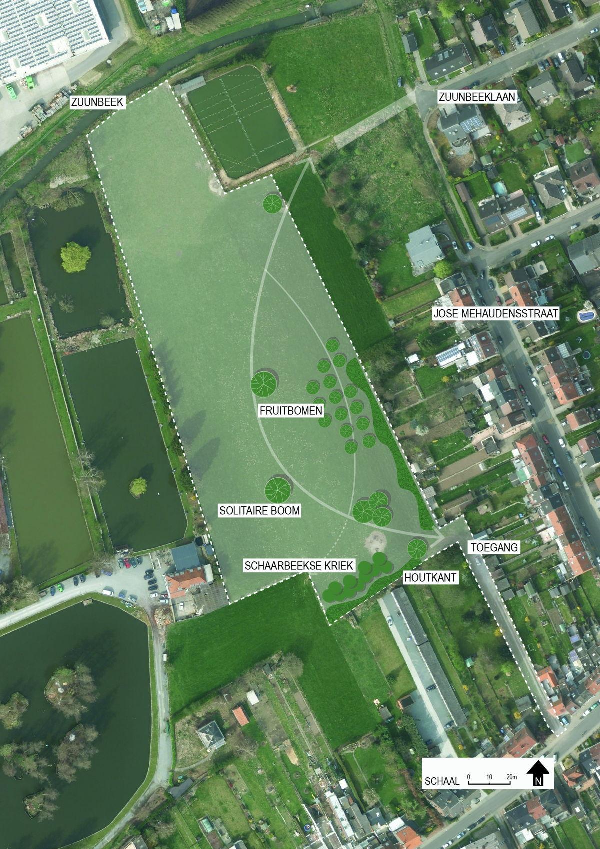 Inrichtingsplan park