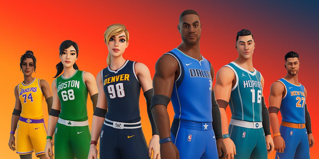 ¡La NBA llega a Fortnite!