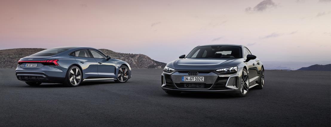 Électrique, sportive et moderne : l'Audi e-tron GT