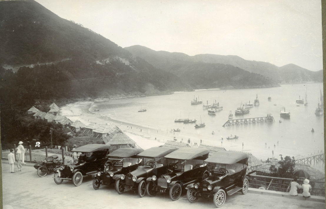 The view from The Repulse Bay Hotel circa 1920