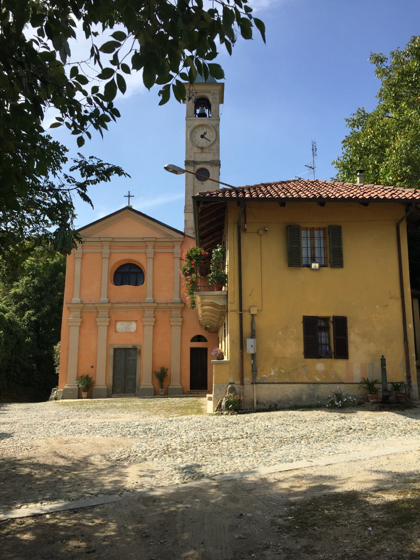 Church for local farmers in village outside Turin