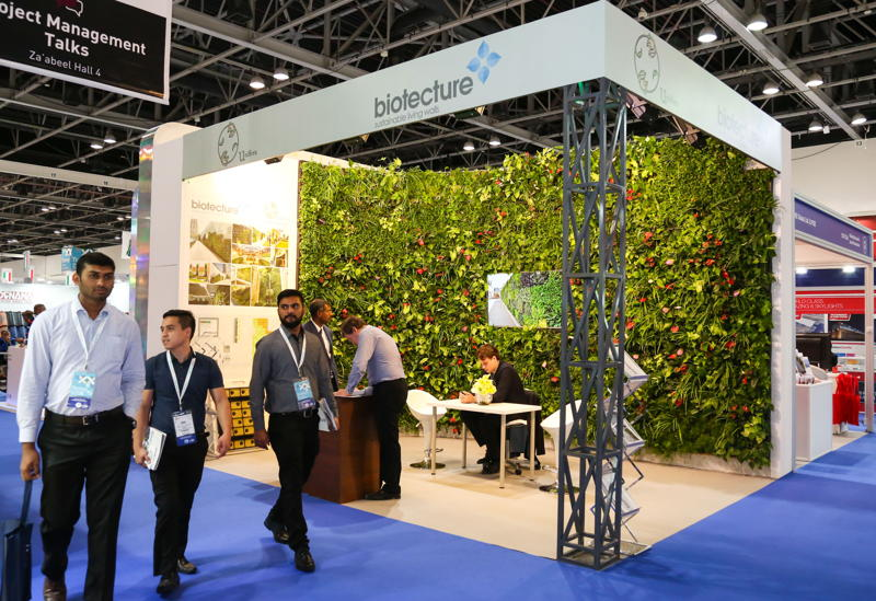 Biotecture stand at The Big 5