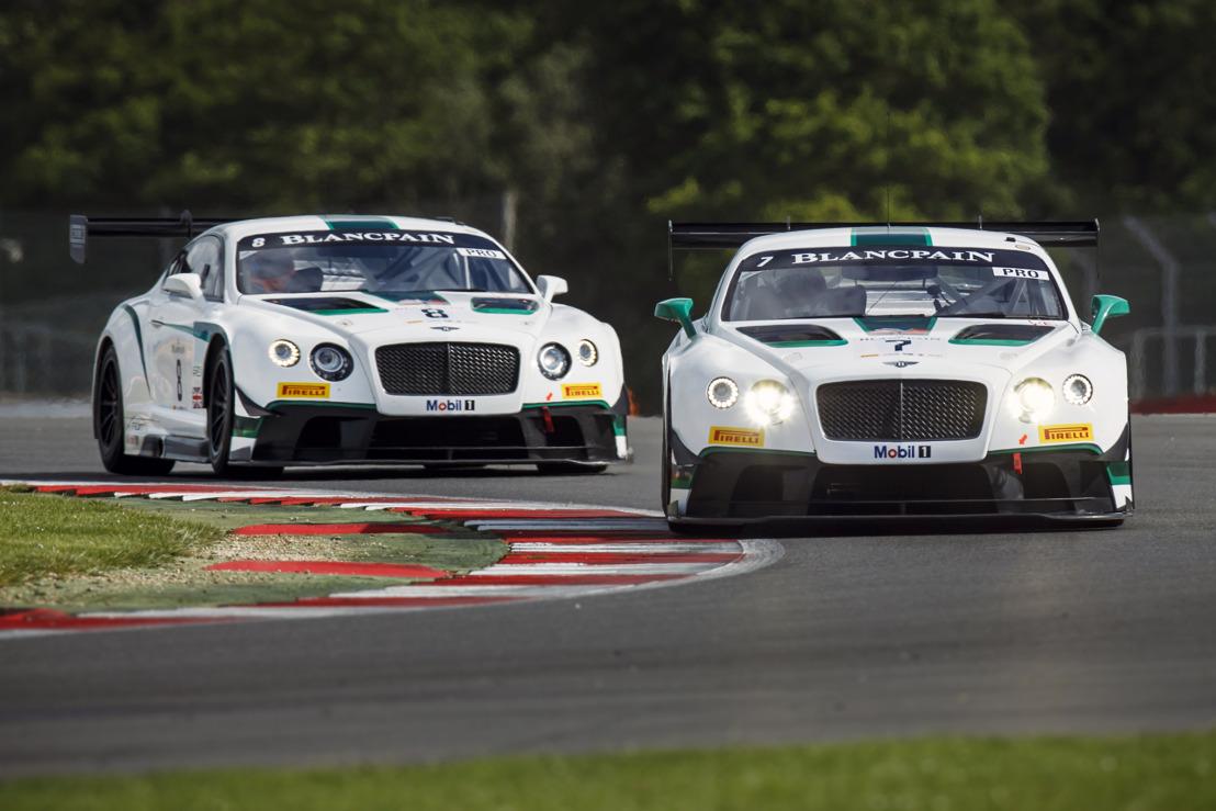 Bentley confirme sa sélection de pilotes pour les 12 Heures de Bathurst