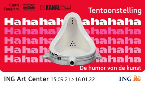 Nieuwe tentoonstelling in het ING Art Center: Hahaha. De humor van de kunst