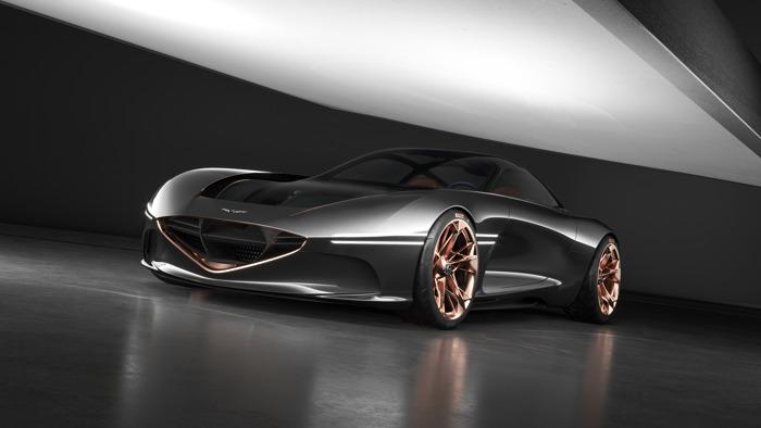 Genesis reveals Essentia Concept at New York International Auto Show