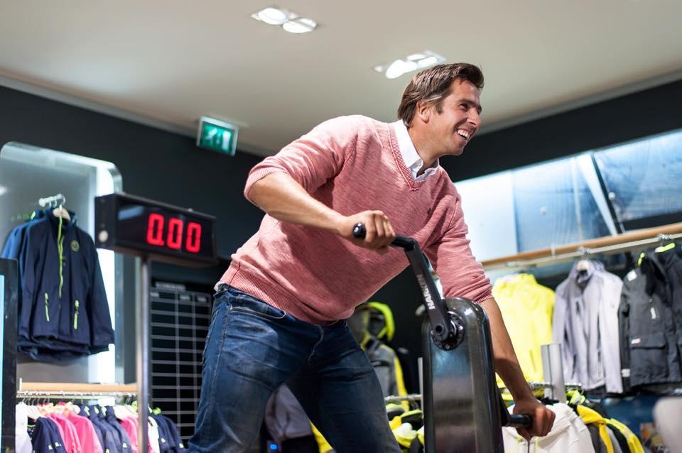 Lancering Gaastra Pro GORE-TEX® collectie  <br/>Pieter-Jan Postma - Olympisch zeiler