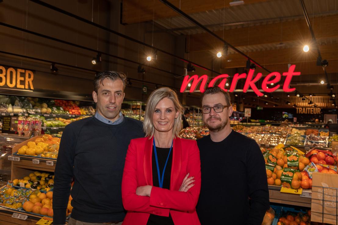 Tien jaar na de Ronde: Nick Nuyens opent een nieuwe Carrefour Market in Brecht