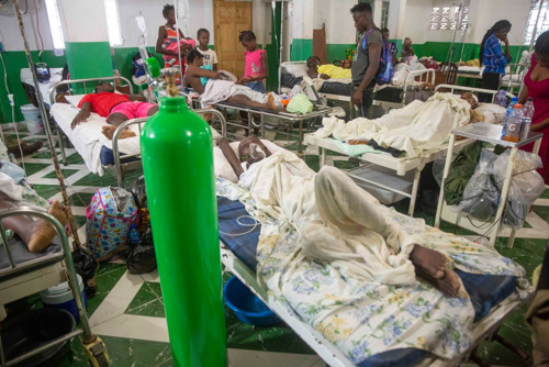 Haiti Earthquake: Doctors Without Borders MSF response (crisis info with photographs)